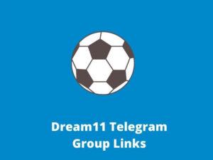 Dream11 Telegram Group join Links