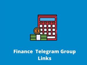 Finance Telegram Group Links
