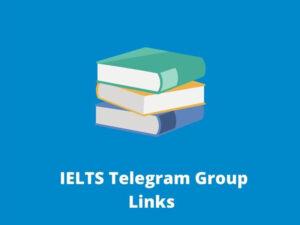 IELTS Telegram Group Links