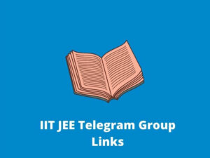 IIT JEE Telegram Group Links