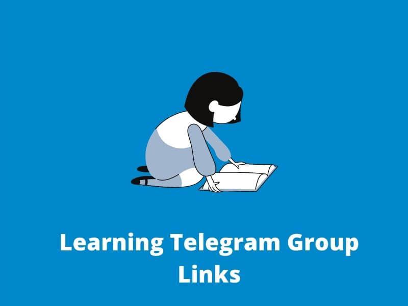 Learning Telegram Group Links