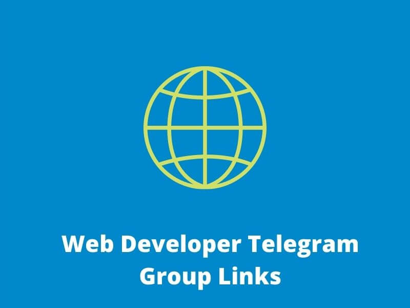 Web Developer Telegram Group Links