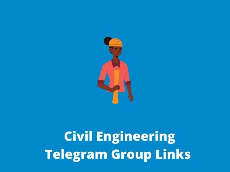 Civil Engineering Telegram Group link