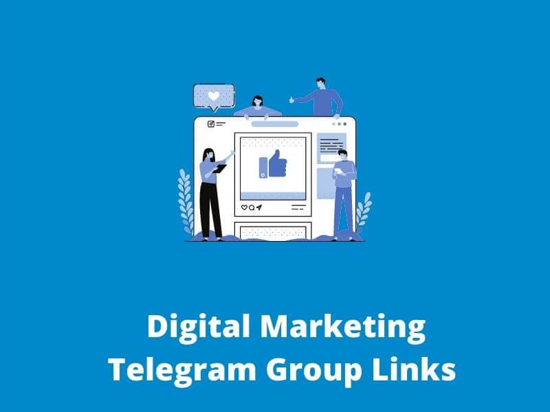 Digital Marketing Telegram Group Links