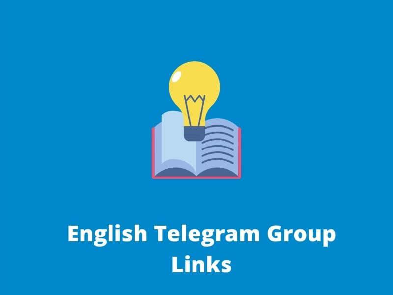 English Telegram Group Links