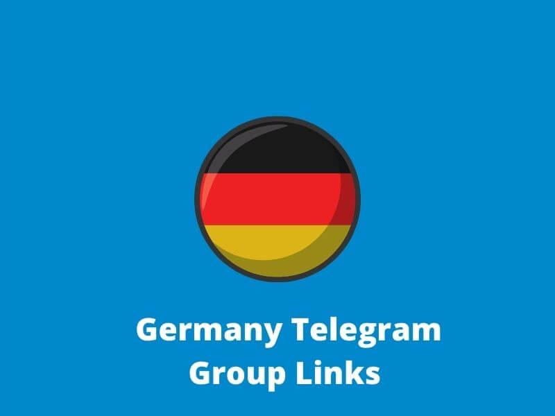 Germany Telegram Group Links