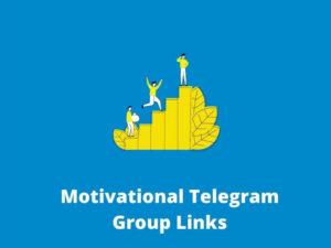 Motivational Telegram Group Links