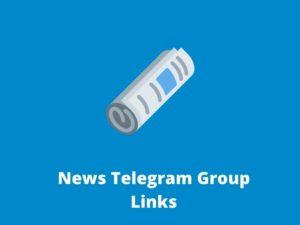 News Telegram Group Links