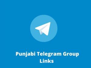 Punjabi Telegram Group Links