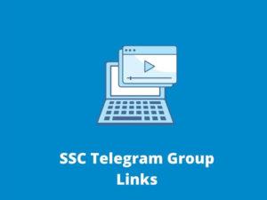 SSC Telegram Group Links