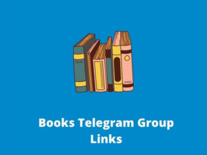Books Telegram Group & Channel Links