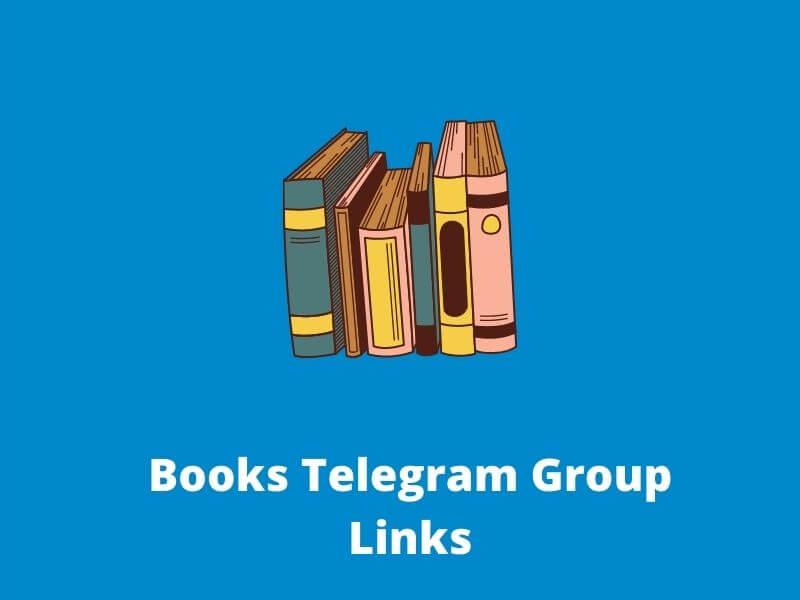 Books Telegram Group & Channel Links