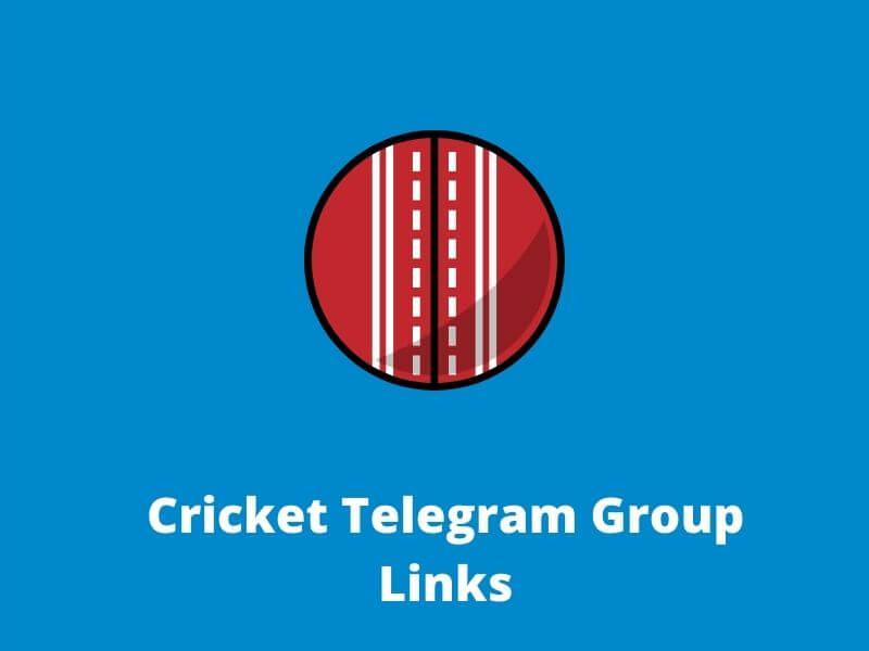 Cricket Telegram Group Links