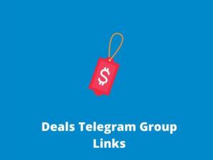 Deals Telegram Group & Channel Links