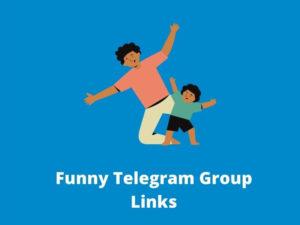 Funny Telegram Groups & Channels Link