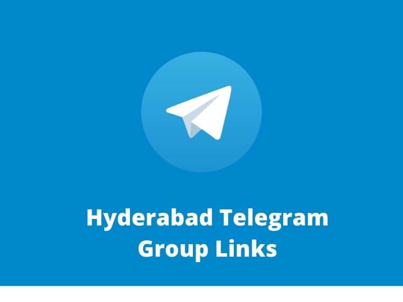 Hyderabad Telegram Group Links