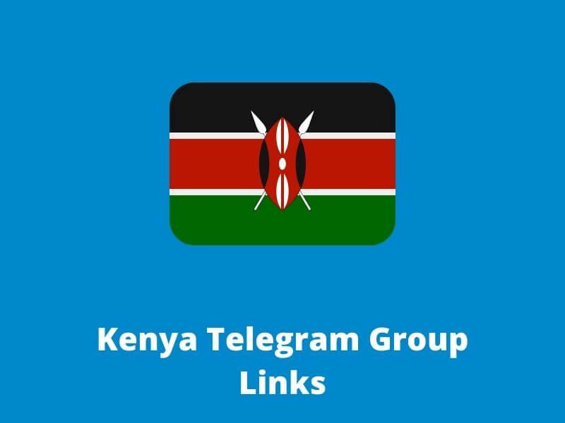 Kenya Telegram Group and channel Links