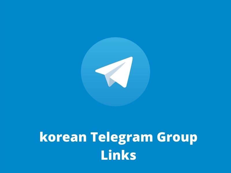 Korean Telegram Group Links