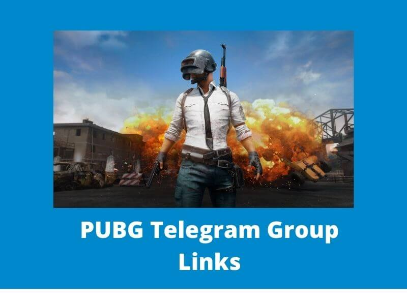 PUBG Telegram Group and channel Links