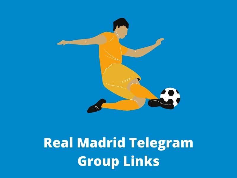 Real Madrid Telegram Group Links