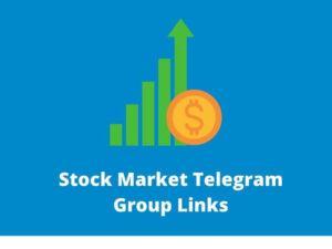 Stock Market Telegram Group Links