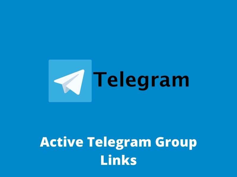 Active Telegram Group Links