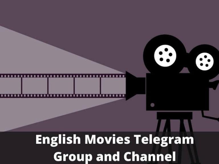 English Movies Telegram Group Links