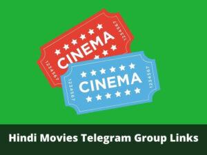Hindi Movies Telegram Group Links