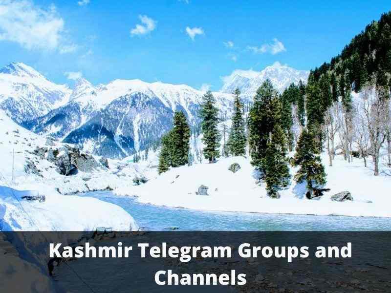 Kashmir Telegram Group Links