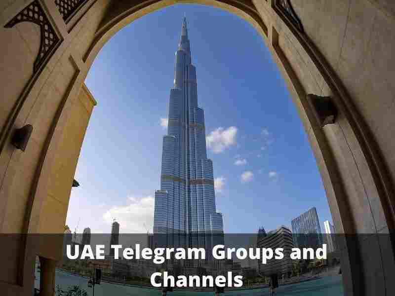 UAE Telegram Group and Channel Links